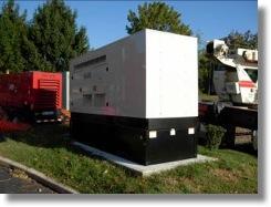 diesel gas commercial generator