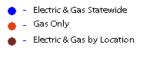 electric gas deregulated map legend